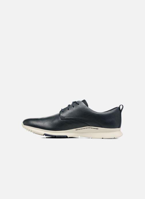 Chaussures à lacets Clarks Tynamo Walk Bleu vue face