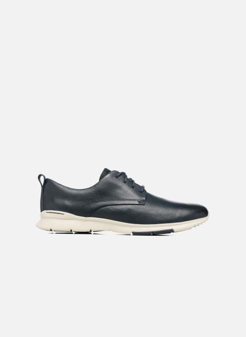 Chaussures à lacets Clarks Tynamo Walk Bleu vue derrière