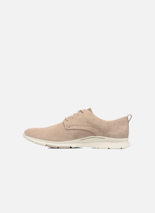 Chaussures à lacets Clarks Tynamo Walk Beige vue face
