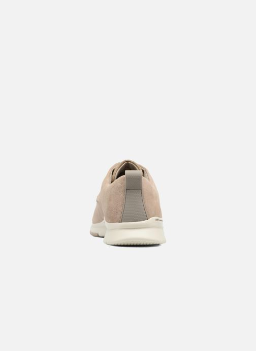 Lace-up shoes Clarks Tynamo Walk Beige view from the right