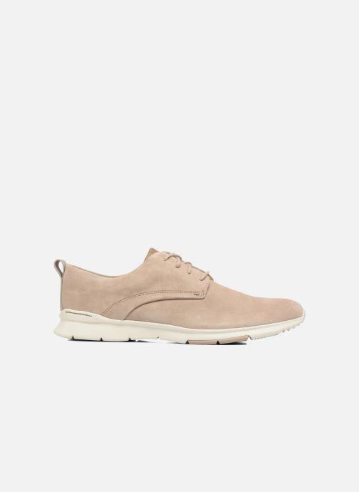 Chaussures à lacets Clarks Tynamo Walk Beige vue derrière