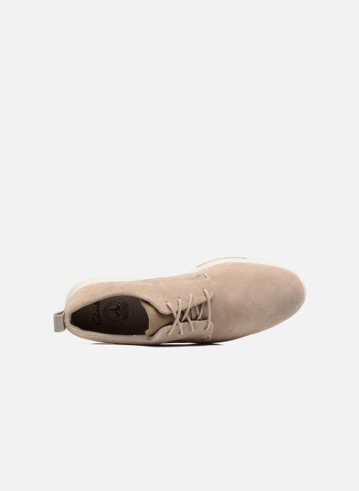 Lace-up shoes Clarks Tynamo Walk Beige view from the left