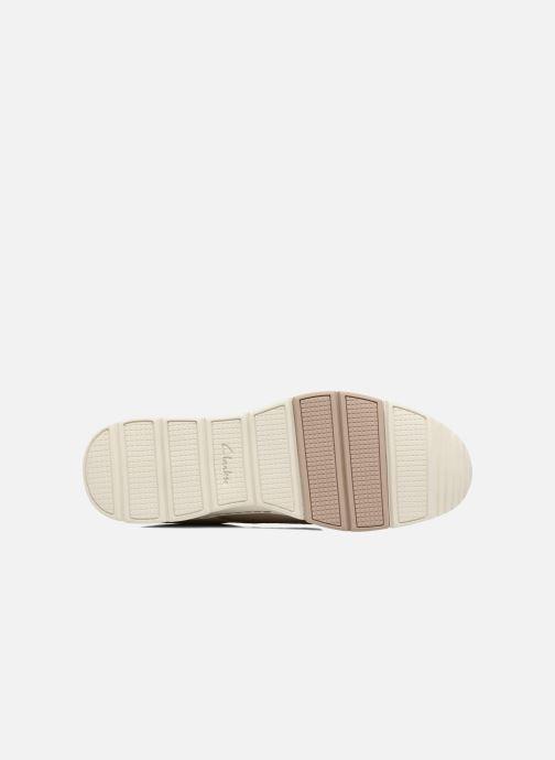 Chaussures à lacets Clarks Tynamo Walk Beige vue haut