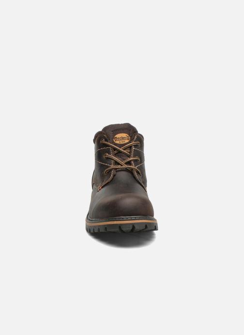 Chaussures à lacets Dockers Hanz Marron vue portées chaussures