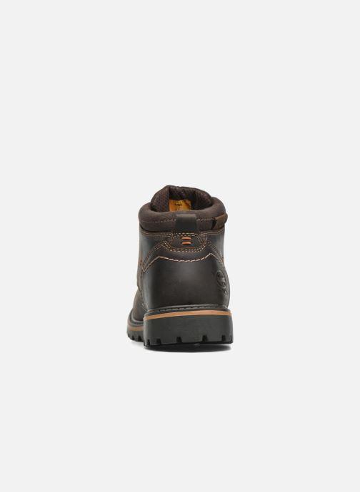 Chaussures à lacets Dockers Hanz Marron vue droite
