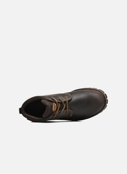 Veterschoenen Dockers Hanz Bruin links