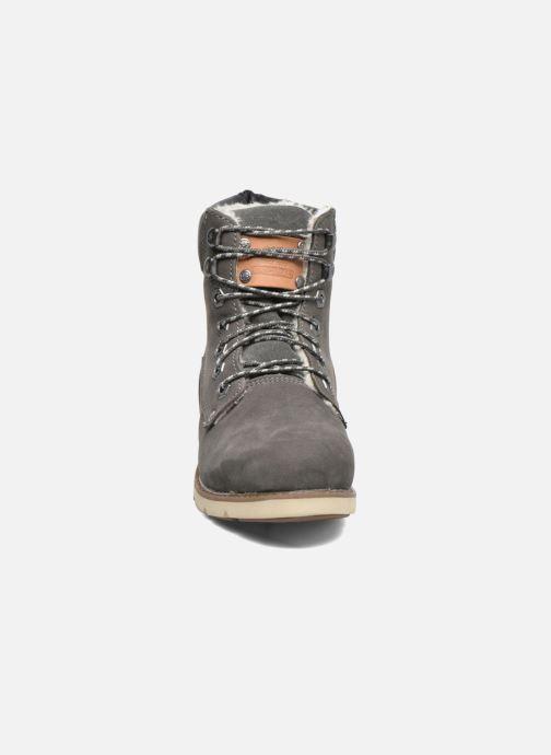 Stiefeletten & Boots Dockers Liane grau schuhe getragen