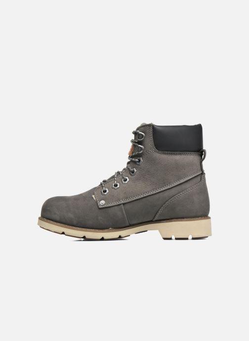 Bottines et boots Dockers Liane Gris vue face