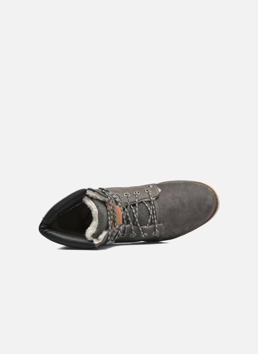 Bottines et boots Dockers Liane Gris vue gauche