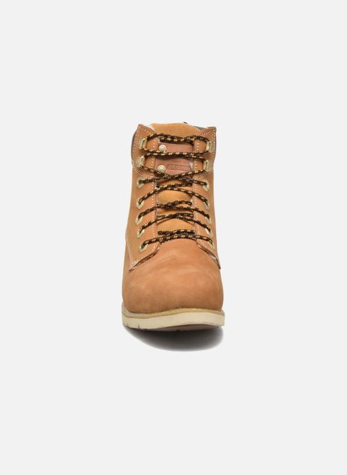 Bottines et boots Dockers Liane Marron vue portées chaussures