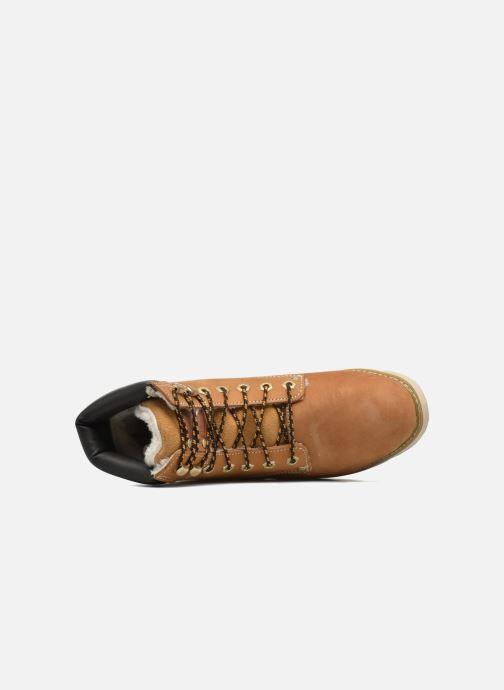 Stiefeletten & Boots Dockers Liane braun ansicht von links