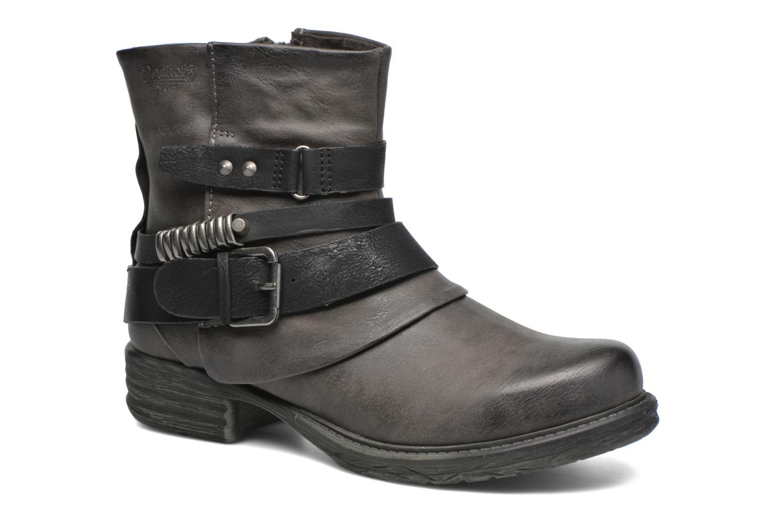 Bottines et boots Dockers Cloee Gris vue détail/paire