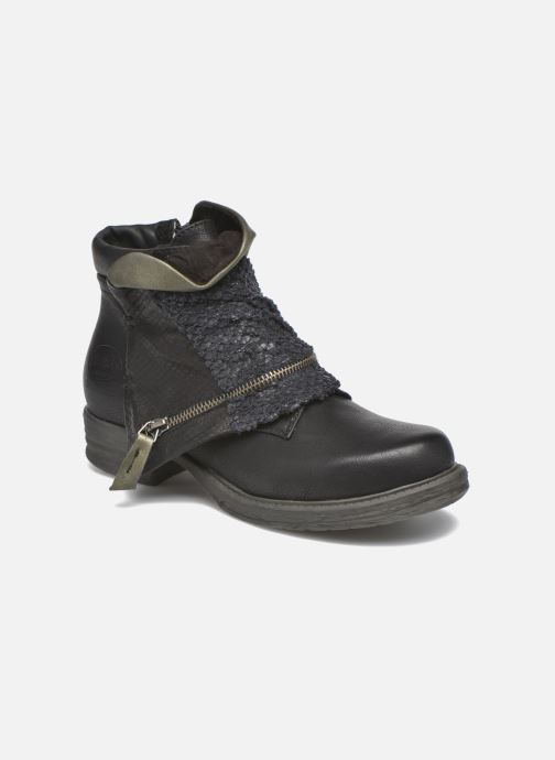 Ankle boots Dockers Nikol Black detailed view/ Pair view