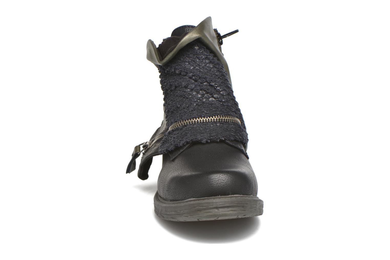 Bottines et boots Dockers Nikol Noir vue portées chaussures