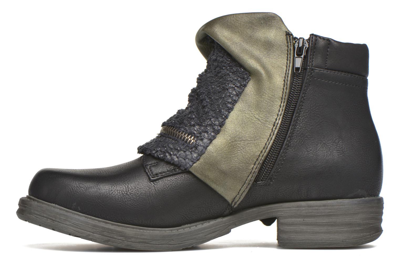 Bottines et boots Dockers Nikol Noir vue face