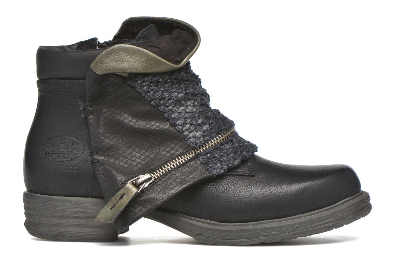 Bottines et boots Dockers Nikol Noir vue derrière