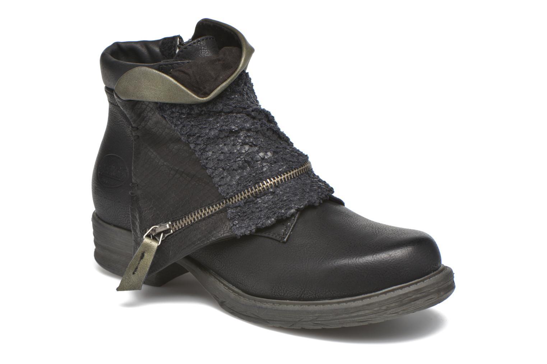 Bottines et boots Dockers Nikol Noir vue détail/paire