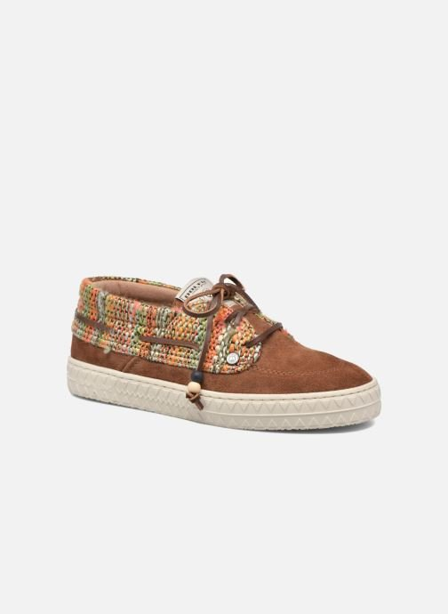Baskets Dolfie Dylan Fur W Marron vue détail/paire