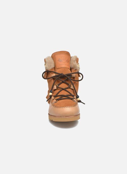 Bottines et boots Dolfie Indiana Marron vue portées chaussures