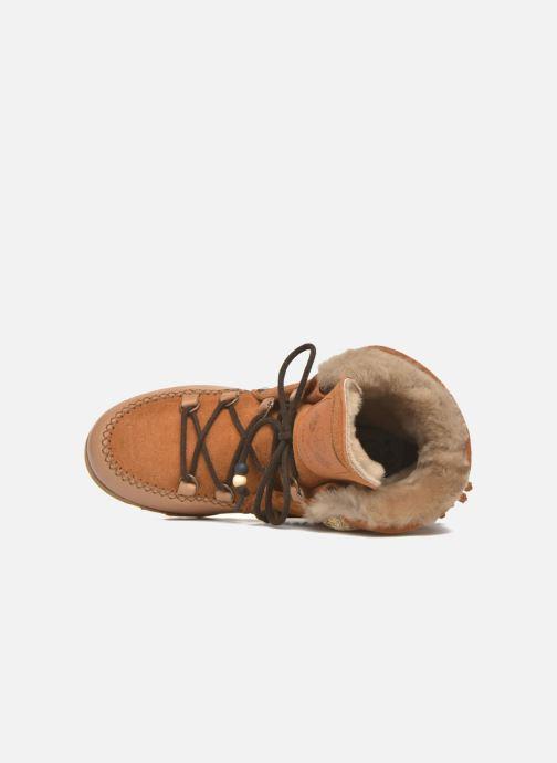Bottines et boots Dolfie Indiana Marron vue gauche