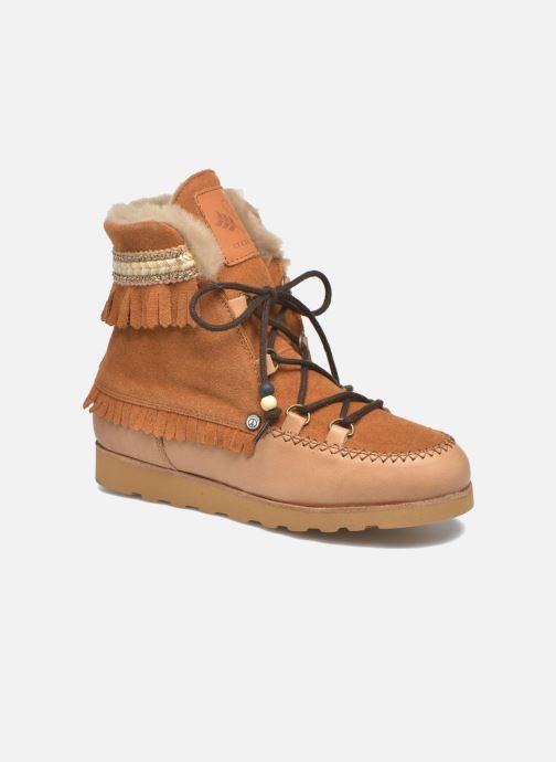 Bottines et boots Dolfie Indiana Marron vue détail/paire