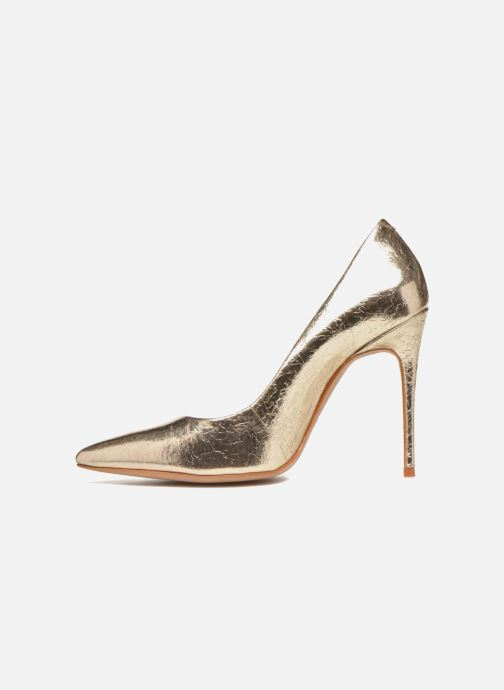 High heels COSMOPARIS Aelia/Fr Bronze and Gold front view
