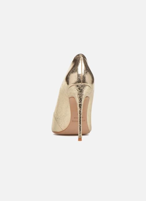High heels COSMOPARIS Aelia/Fr Bronze and Gold view from the right