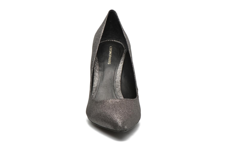 Escarpins COSMOPARIS Azoa/Diam Gris vue portées chaussures