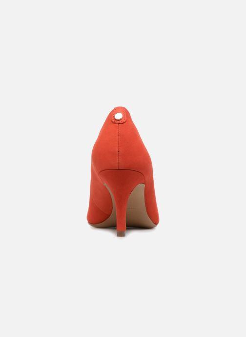 Escarpins COSMOPARIS Jenni/Nub Rouge vue droite