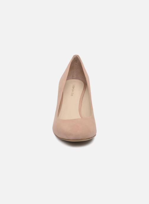 Escarpins COSMOPARIS Jenni/Nub Rose vue portées chaussures