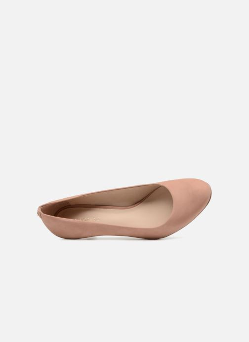 Zapatos de tacón COSMOPARIS Jenni/Nub Rosa vista lateral izquierda