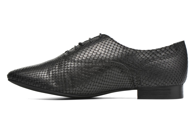 Zapatos con cordones COSMOPARIS Viani/Pyt Negro vista de frente