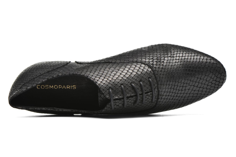 Zapatos con cordones COSMOPARIS Viani/Pyt Negro vista lateral izquierda