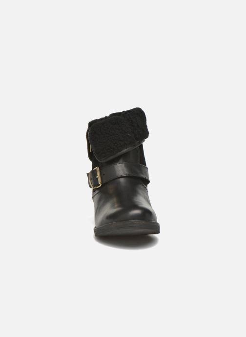 Bottines et boots COSMOPARIS Floa/Bi Noir vue portées chaussures
