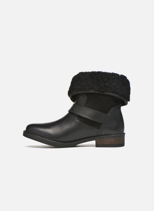 Bottines et boots COSMOPARIS Floa/Bi Noir vue face