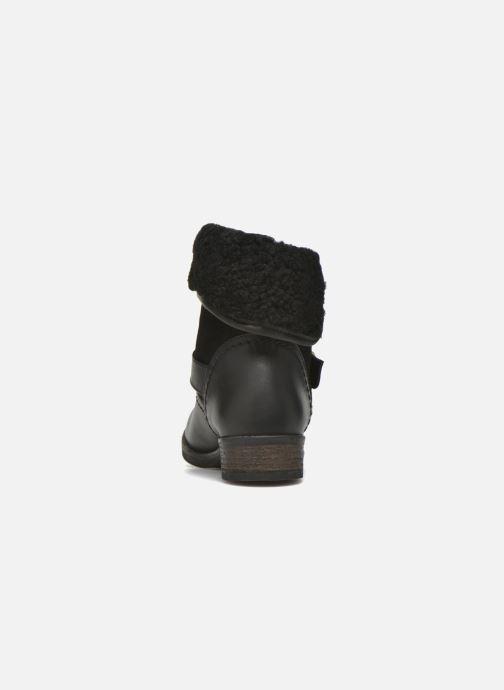 Bottines et boots COSMOPARIS Floa/Bi Noir vue droite