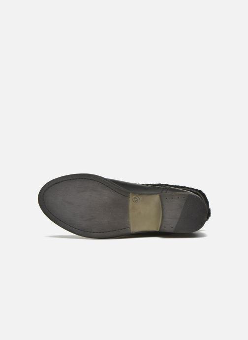 Bottines et boots COSMOPARIS Floa/Bi Noir vue haut