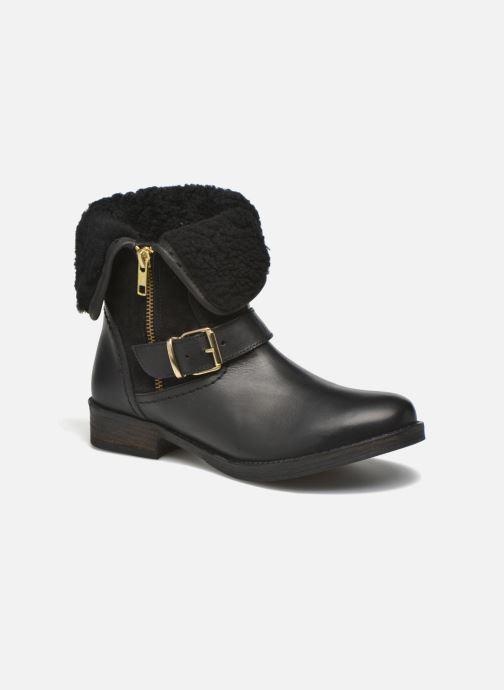 Boots en enkellaarsjes COSMOPARIS Floa/Bi Zwart detail