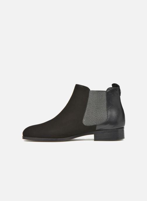 Bottines et boots COSMOPARIS Vameli/Bi Noir vue face