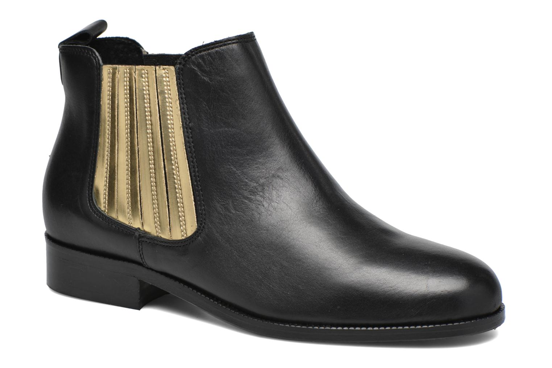 Ankelstøvler COSMOPARIS Vissia Sort detaljeret billede af skoene