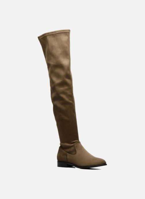 Boots & wellies COSMOPARIS Mayani/Vel Green detailed view/ Pair view