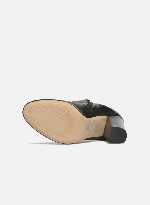 Bottines et boots COSMOPARIS Aloma Noir vue haut