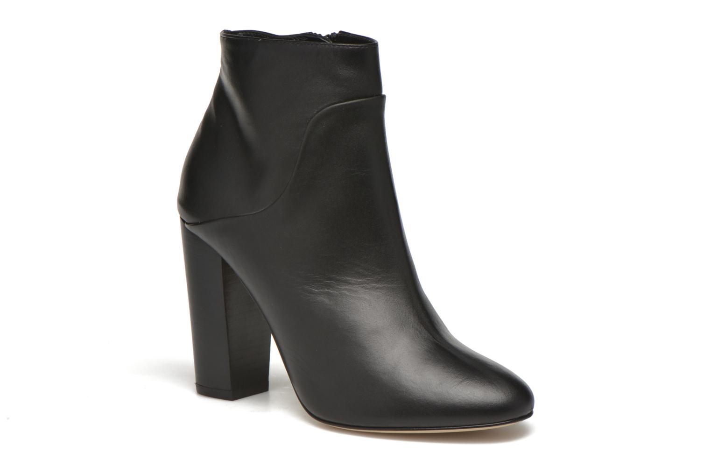 Boots en enkellaarsjes COSMOPARIS Aloma Zwart detail