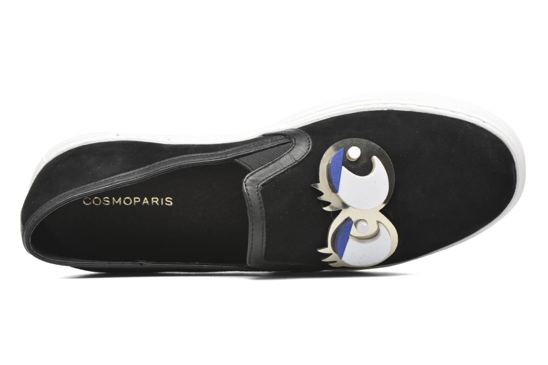 Sneakers COSMOPARIS Eyes Zwart links