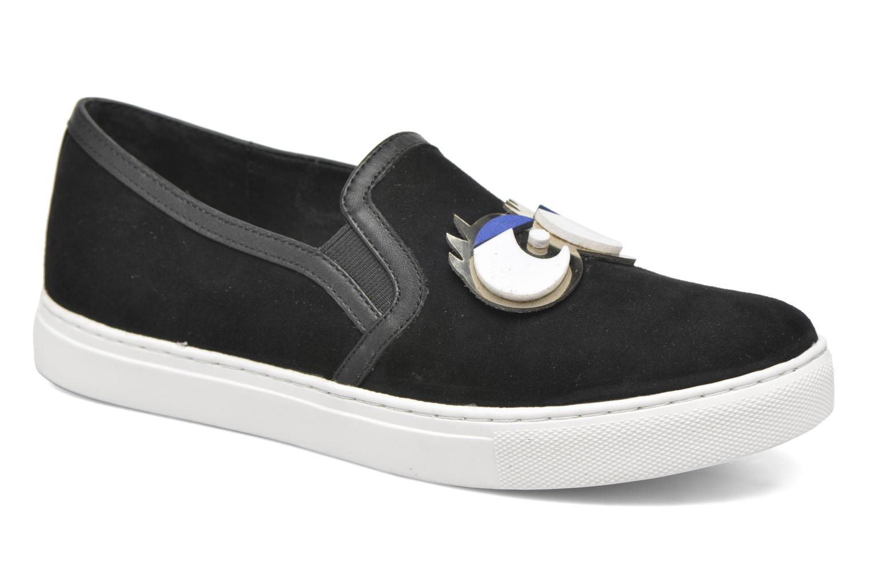Sneakers COSMOPARIS Eyes Zwart detail