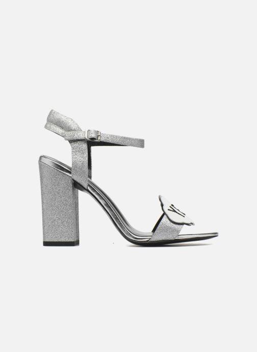 Sandales et nu-pieds COSMOPARIS Jokes/Diam Argent vue derrière