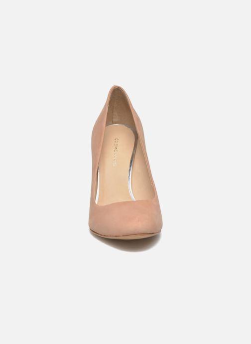Escarpins COSMOPARIS Jeclara Rose vue portées chaussures