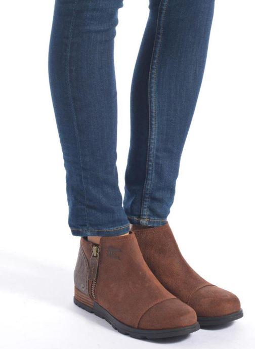 Stiefeletten & Boots Sorel Sorel Major Low braun ansicht von unten / tasche getragen