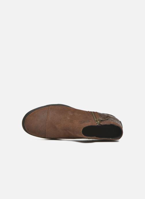 Stiefeletten & Boots Sorel Sorel Major Low braun ansicht von links
