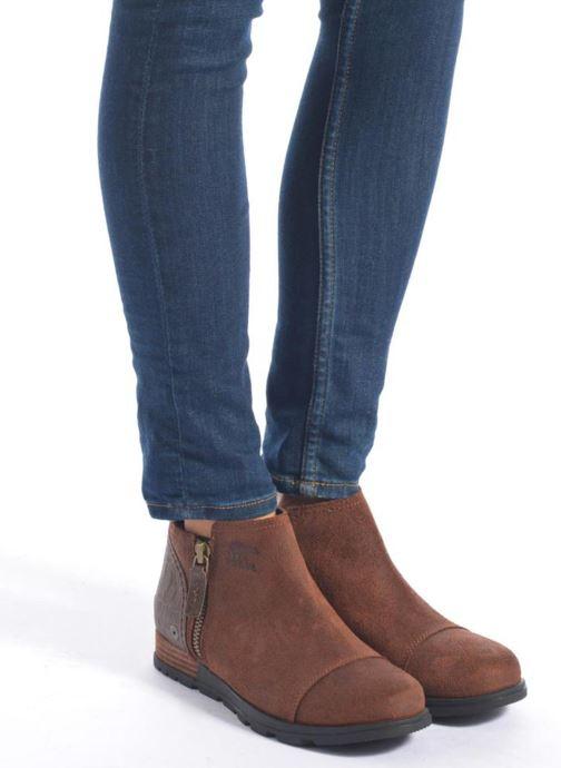 Bottines et boots Sorel Sorel Major Low Noir vue bas / vue portée sac